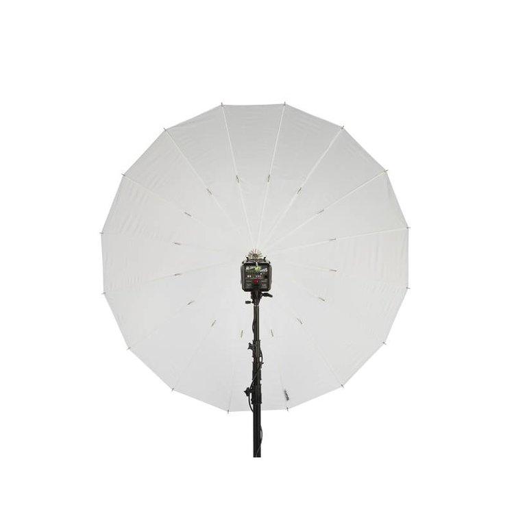 """64"""" Weiß PLM  Durchlichtschirm"""