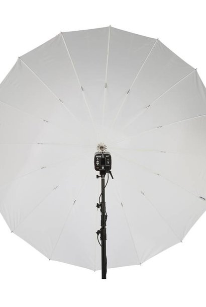 "86"" White PLM Umbrella"