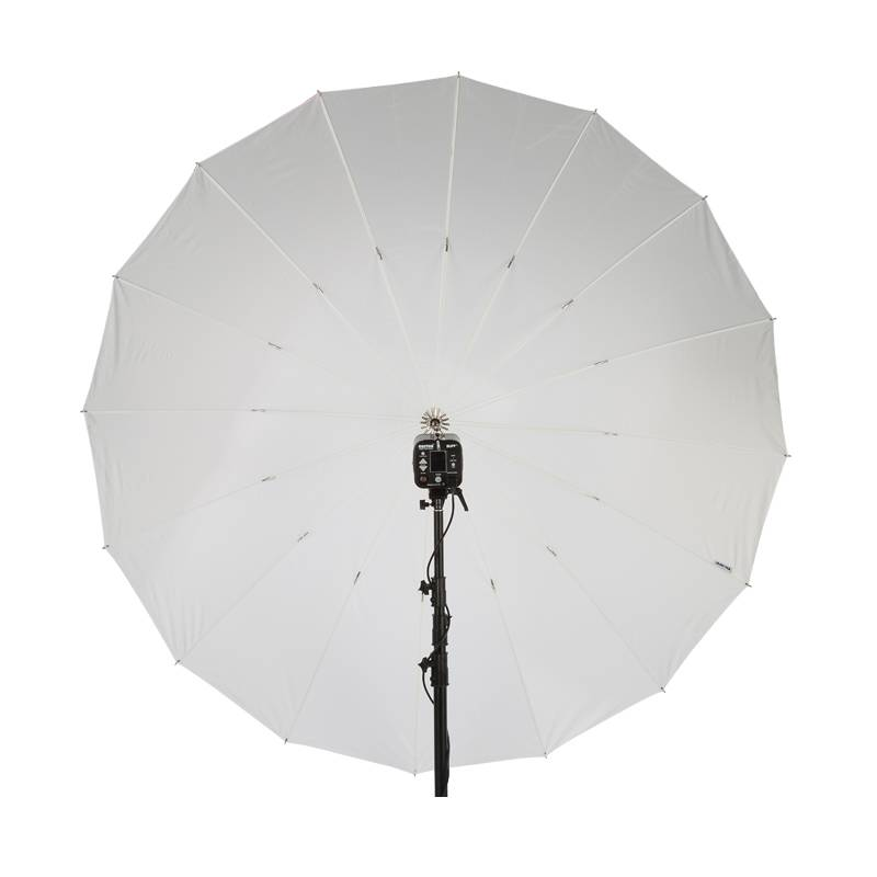 "86"" Wit PLM Paraplu-1"