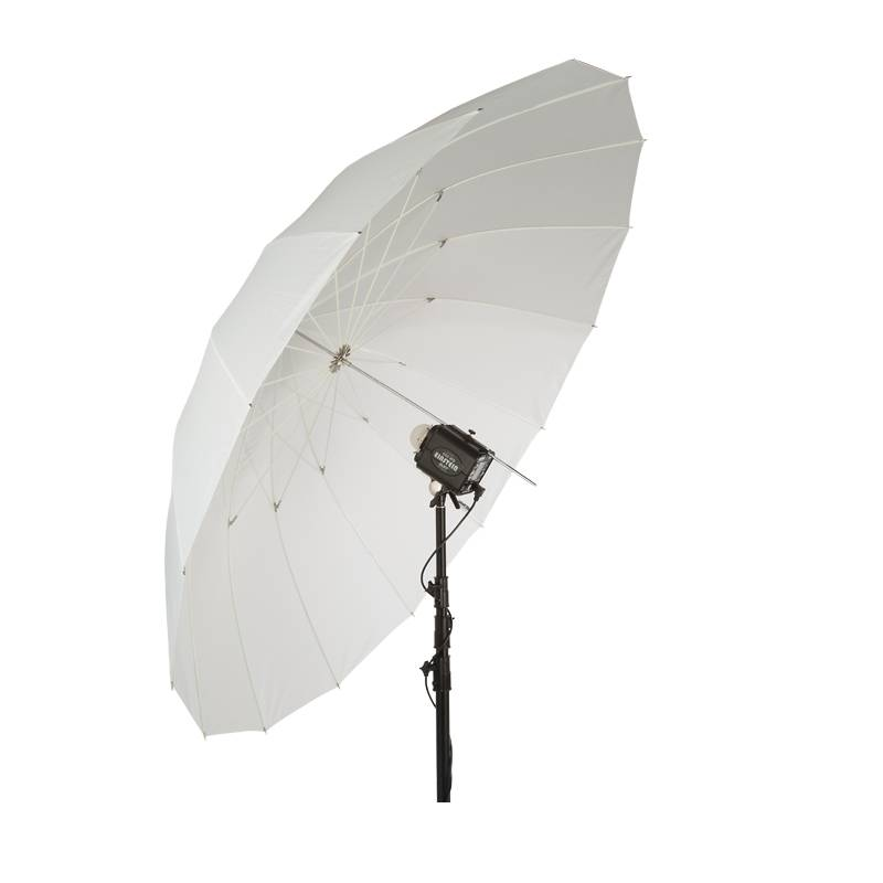 "86"" Wit PLM Paraplu-2"