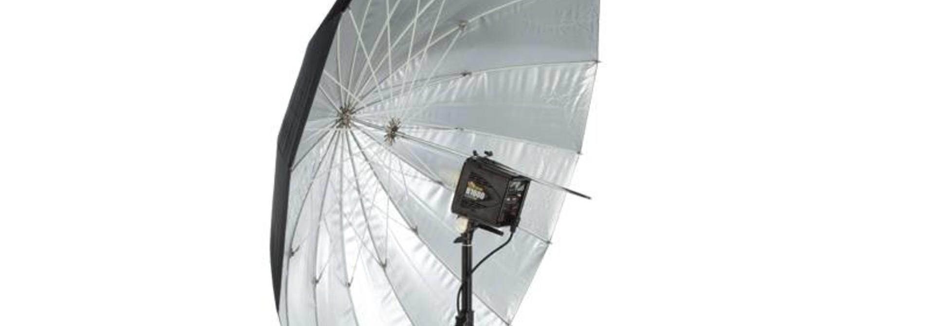 "64"" Soft Silver PLM Umbrella"