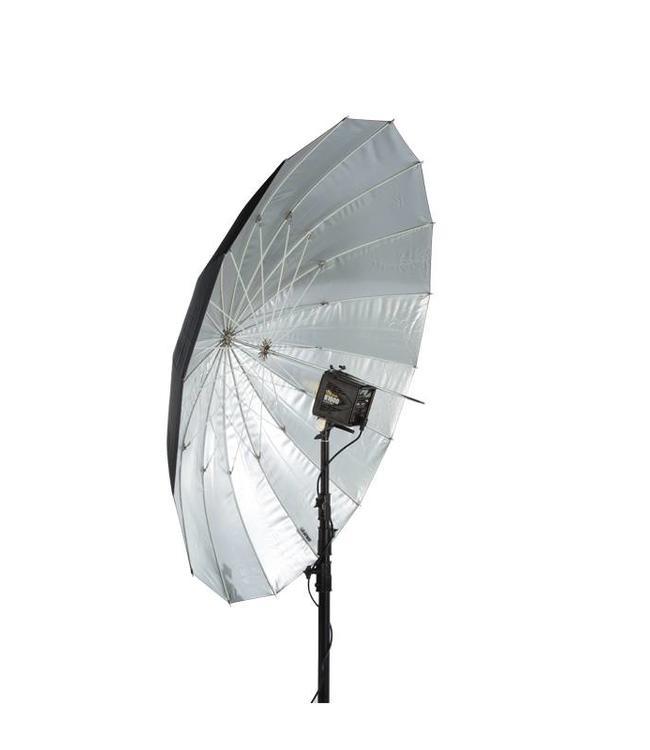 "Paul C. Buff 64"" Soft Zilver PLM Paraplu"