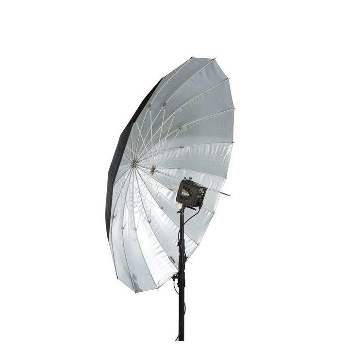 "64"" Soft Zilver PLM Paraplu"