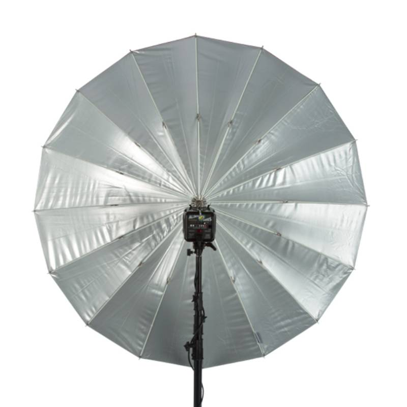 "86"" Soft Zilver PLM Paraplu-2"