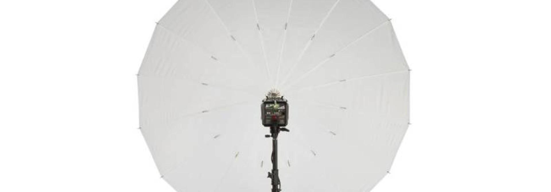 "51"" White PLM Umbrella"
