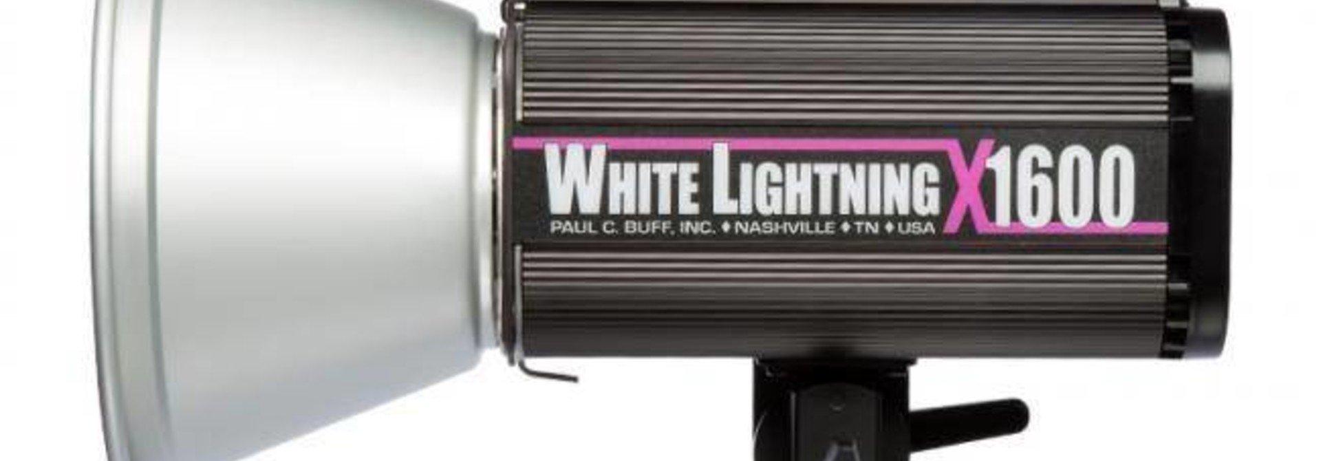 White Lightning Studioflitser X1600