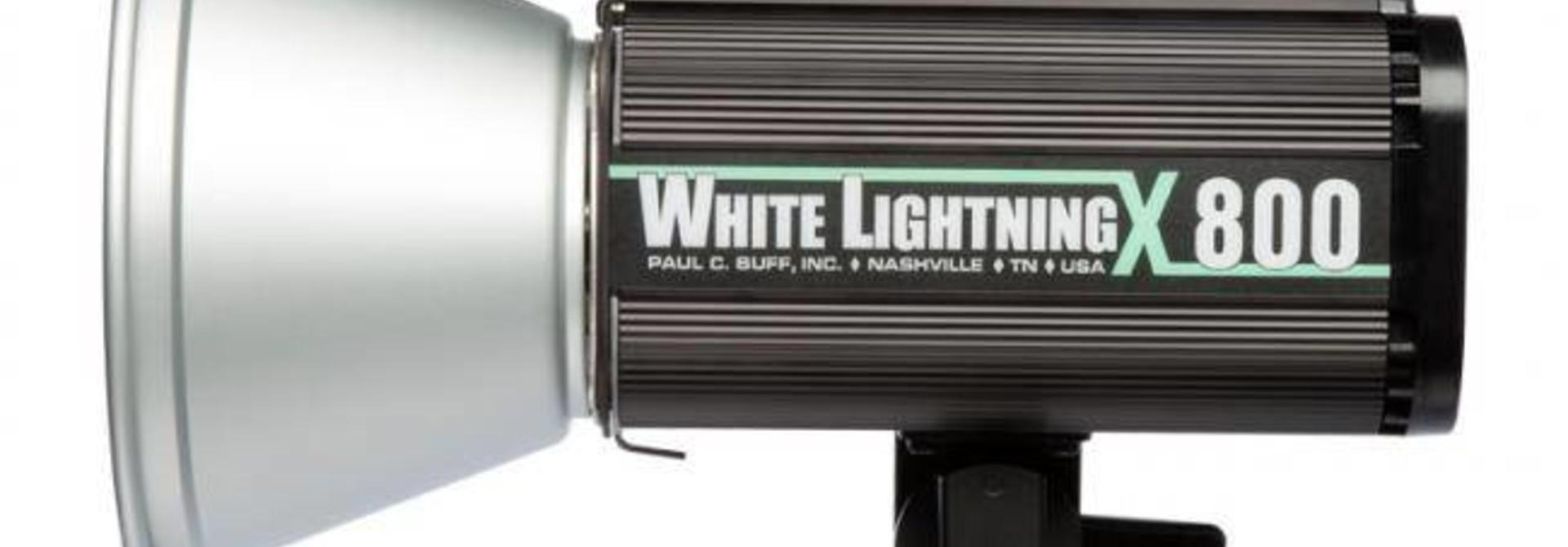 White Lightning Studioflitser X800