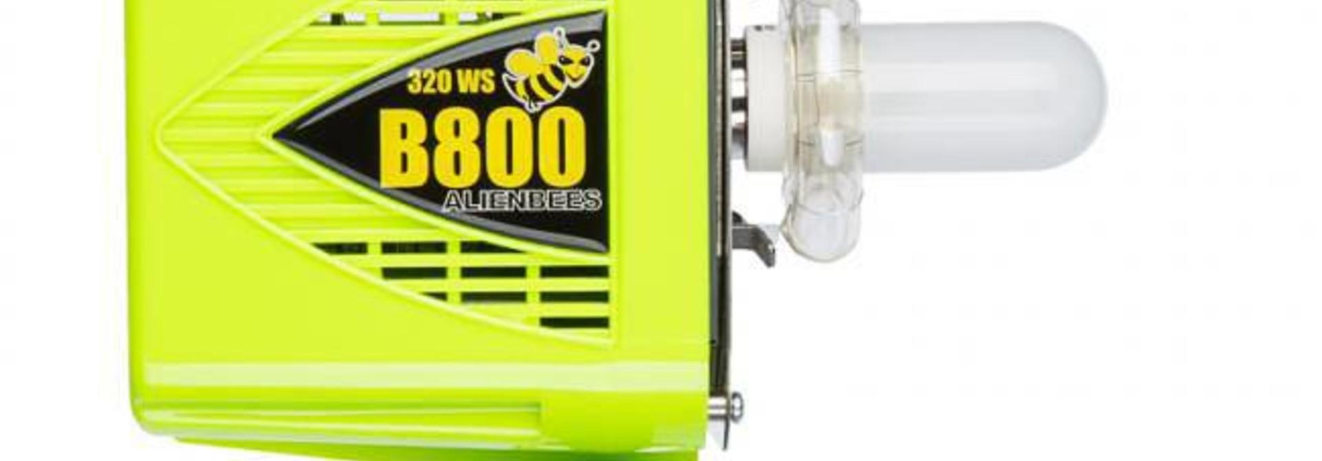 AlienBees Studioflitser B800