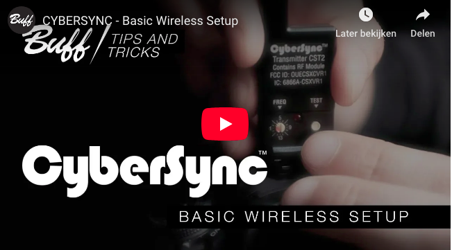 CYBERSYNC - Basic Wireless Setup