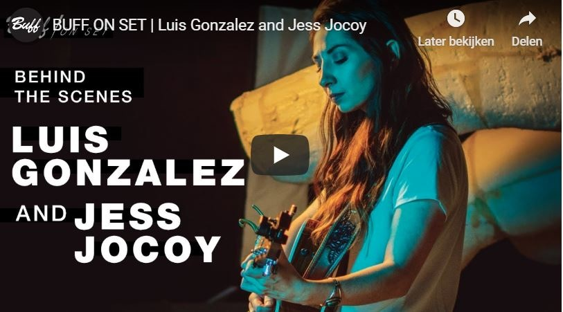 BUFF ON SET | Luis Gonzalez and Jess Jocoy
