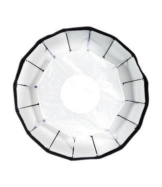 """Paul C Buff 24"""" White Foldable Beauty Dish"""