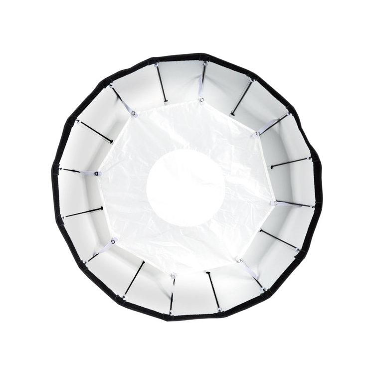"24"" White Foldable Beauty Dish"