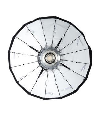 "Paul C Buff 24"" Silver Foldable Beauty Dish"