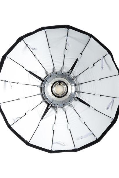 """24 """" Silber faltbare Beauty Dish"""