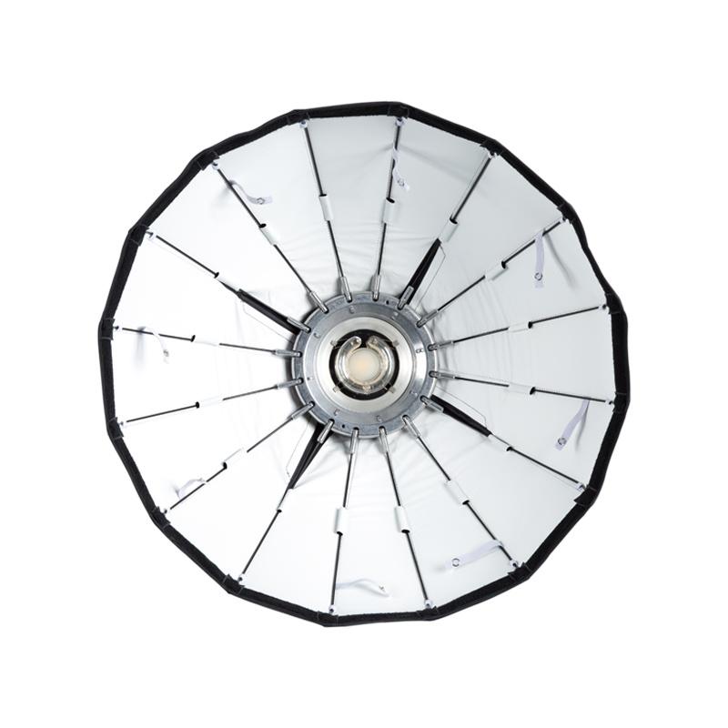 "24"" Silver Foldable Beauty Dish-1"