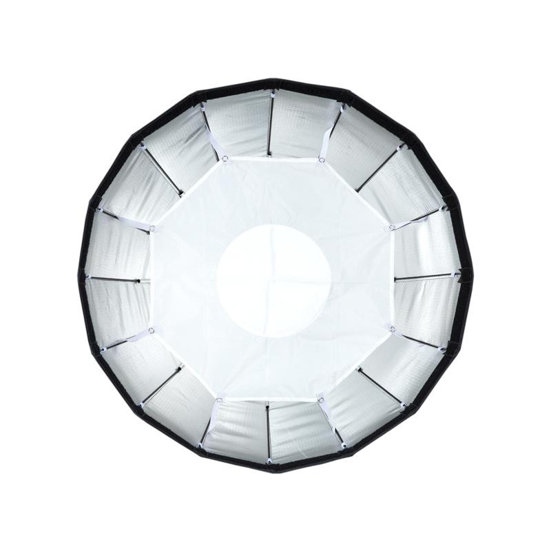 "24"" Silver Foldable Beauty Dish-6"