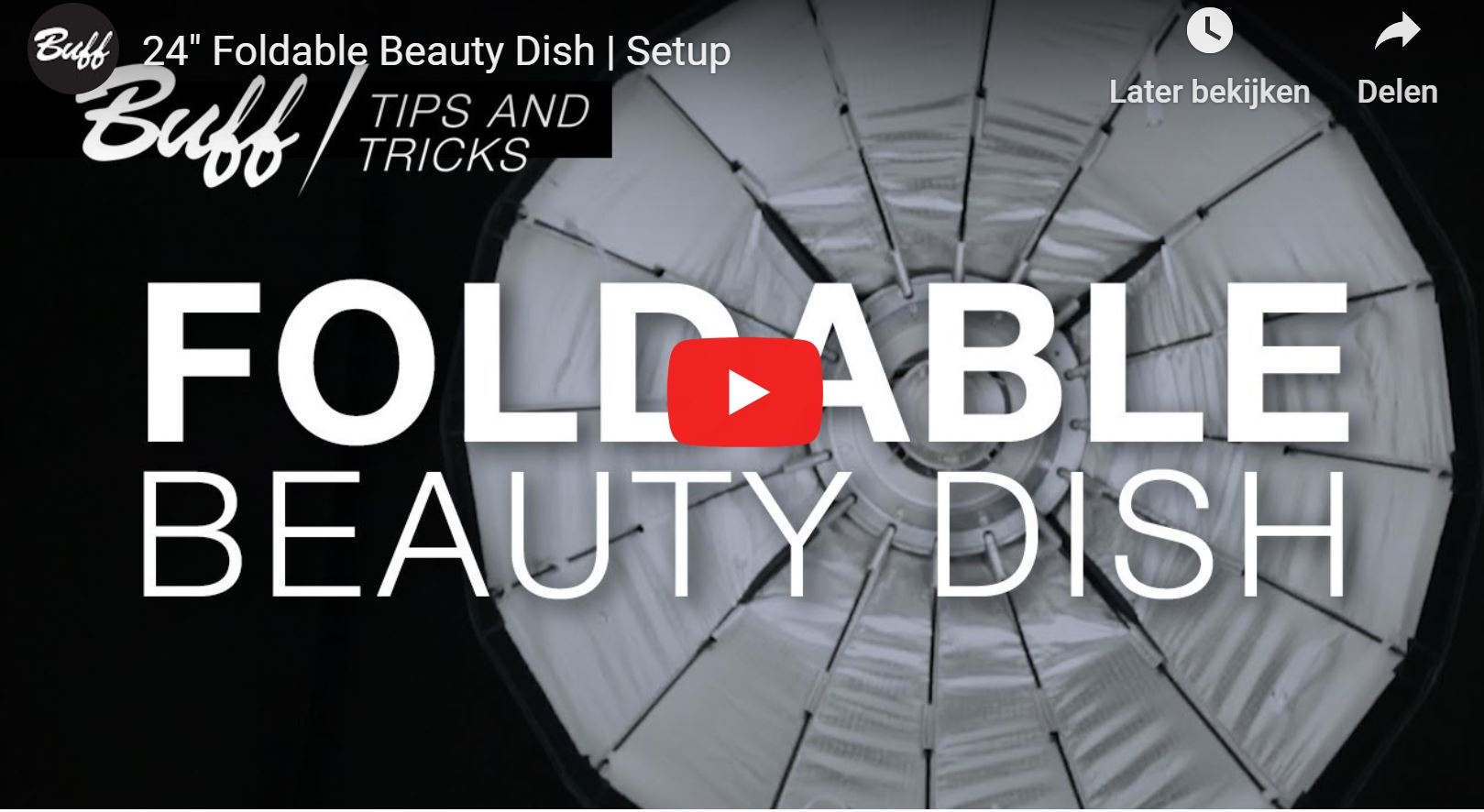"NEW 24"" Foldable Beauty Dish 