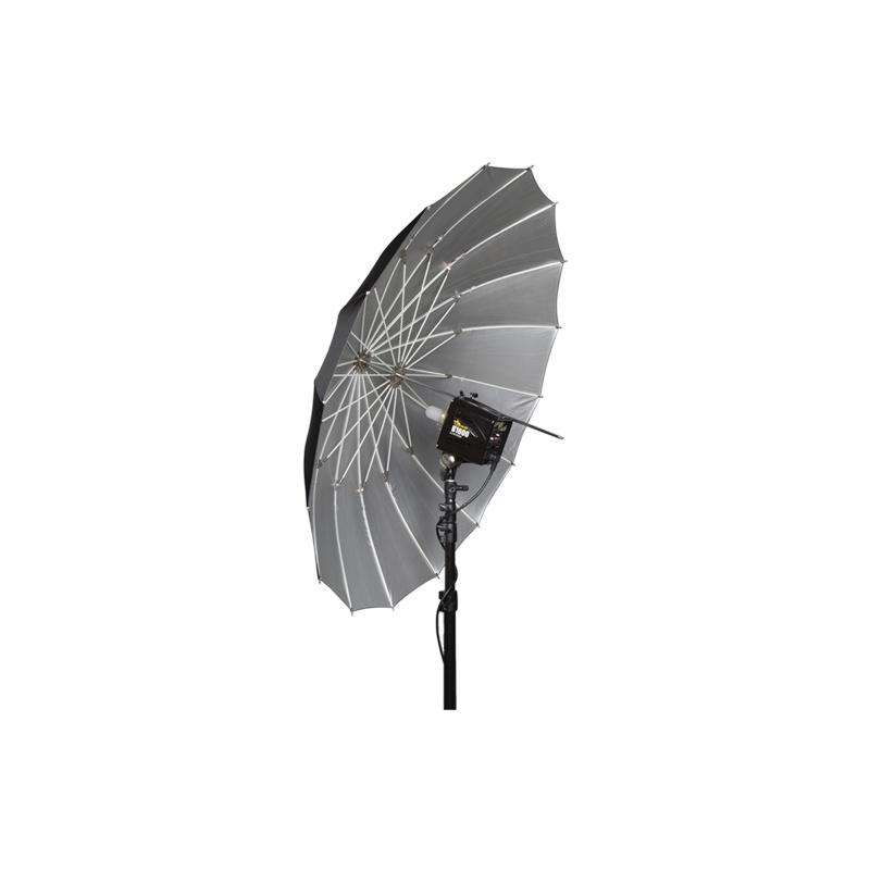 "51"" Soft Zilver PLM Paraplu-2"