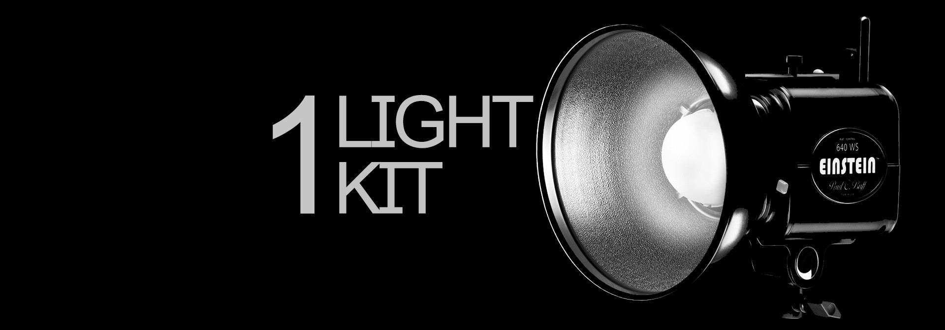 ONE LIGHT KIT | WITH PAUL C. BUFF