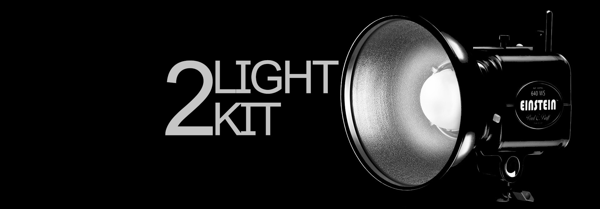 TWO LIGHT KIT | WITH PAUL C. BUFF
