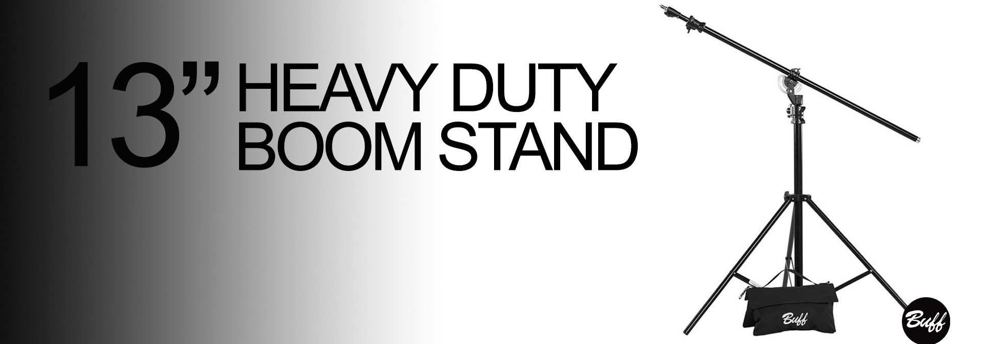 HEAVY DUTY BOOM STAND