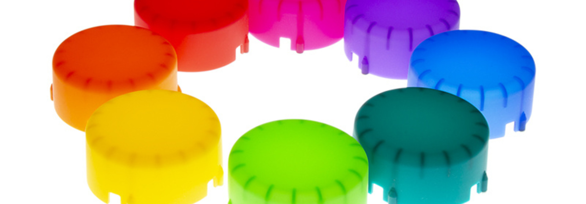 Color Gel Domes