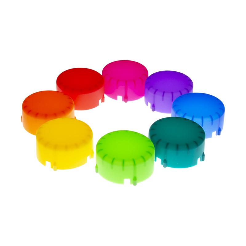 Color Gel Domes-1