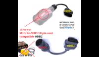 GS911 WIFI 10 BROCHES COMPATIBLE R1250GSLC.RTLC... (CONNECTEUR RECTANGULAIRE ODB2)