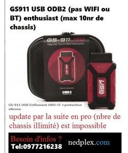 GS911 usb ODB2 max 10 nr de chassis (VIN)