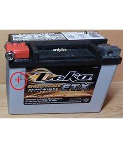 ETX9 Deka batterie  made in USA