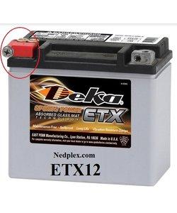 ETX12 DEKA ACCU made in USA