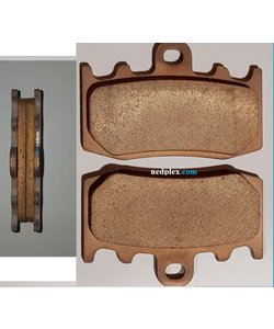 1200GS 2005-2012 FRONT BRAKE PAD SPORT  SYNTHER BRONZE