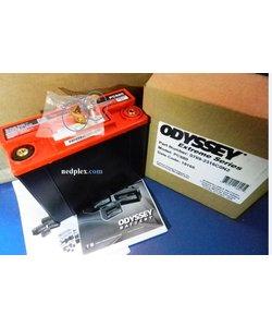 batterie PC680 (ODYSSEY) + 1x équerre +notice en francais