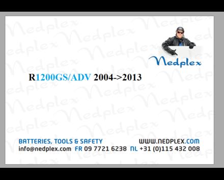 R1200GS/ADV 2004->2013