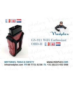 GS911 Wifi Enthusiast ODB2 en Francais/anglais ou NL
