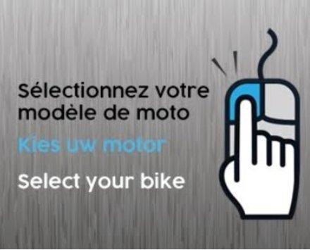 Selectionnez votre modéle de moto