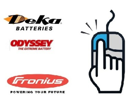 batteries DEKA made in USA,Odyssey