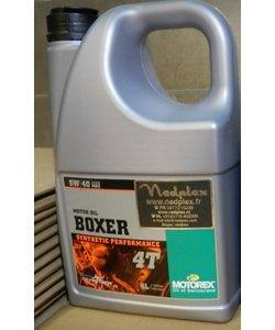 voor watergekoelde R1200/1250LC   5W40 Boxer 4liter +oliefilter OC619