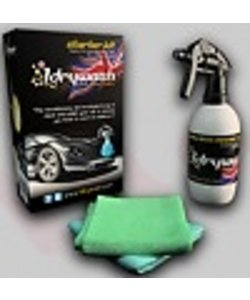 wassen zonder water motoren,camper,auto,boot