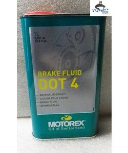 DOT 4 brake fluid Motorex 1liter
