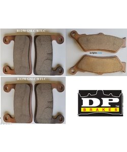 R1250 GSLC brake pad Front+Rear  synt Br (caliper hayes)