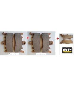R1200GSLC plaquette Avant (pour 2 disques) SPORT+AR synther Bronze