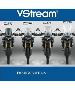 F850GS 2018->48,6 x 37,8cm  Z2378 mirror extensions necessary !! option Z5304