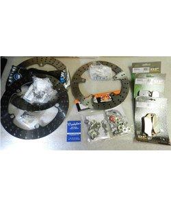 R1200GS 2008->2013 front+rear disc+ brake pad+bolt disc +bolt calipper