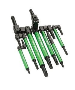 Jeu de clés TURBO Z  (7pcs)T20, T25, T27, T30, T40, T45, T50