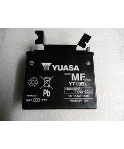 YT19BL (WC) chargée en usine  YUASA (WET CHARGED)