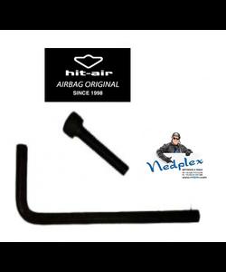 vis et clé Allen airbag Moto