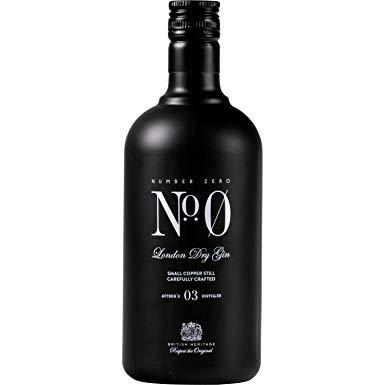 Number Zero gin