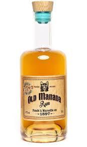 Old Manada rhum gold ferroni