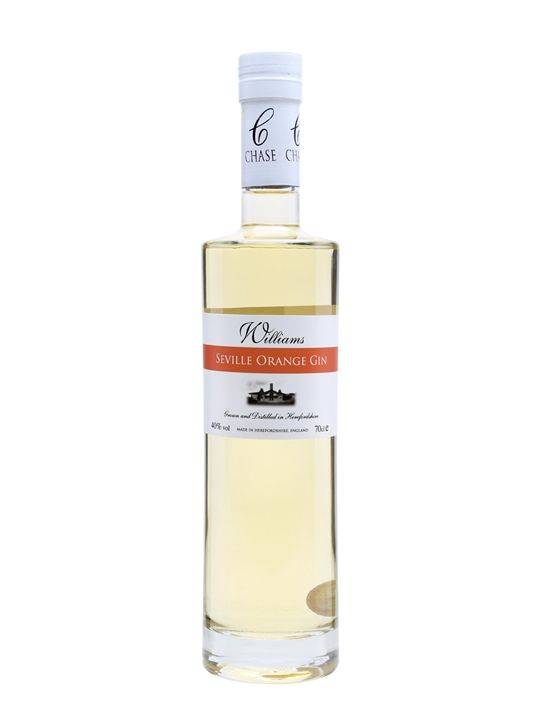 Willimams Chase Seville Orange gin